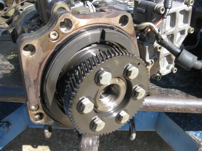 isuzu injection pump 4he1 discerning between fine and coarse fine tooth gear injection pump