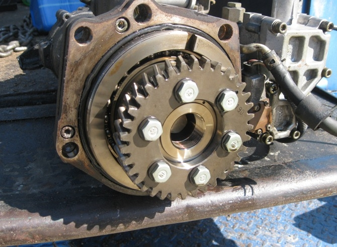 Isuzu Injection Pump 4he1  Discerning Between Fine And Coarse Tooth Gears
