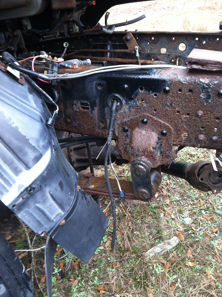 What Causes Rust on Your Truck Frame | Isuzu NPR NRR Truck Parts ...