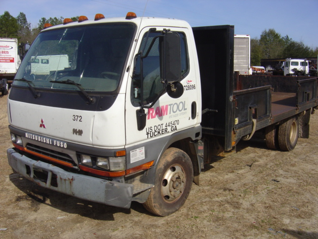 fuso a used parts mitsubishi ton japanese fighter dump trucks