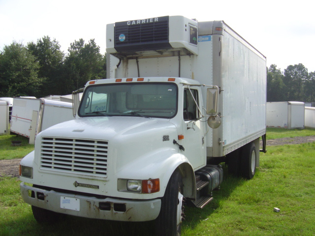international 4700 refrigerated truck 2001 used busbee 39 s. Black Bedroom Furniture Sets. Home Design Ideas