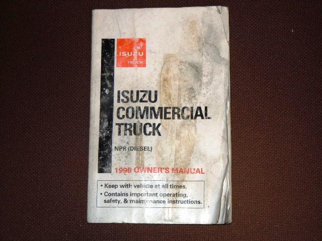 Isuzu npr 1992 Manual