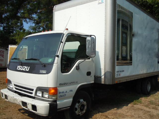Isuzu Npr Box Truck 2001 Used