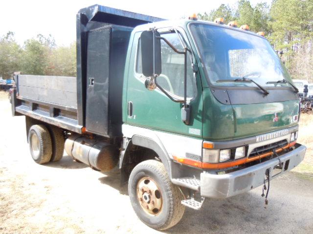 Mitsubishi Fuso 1999 Fg 4x4 Dump Truck Used