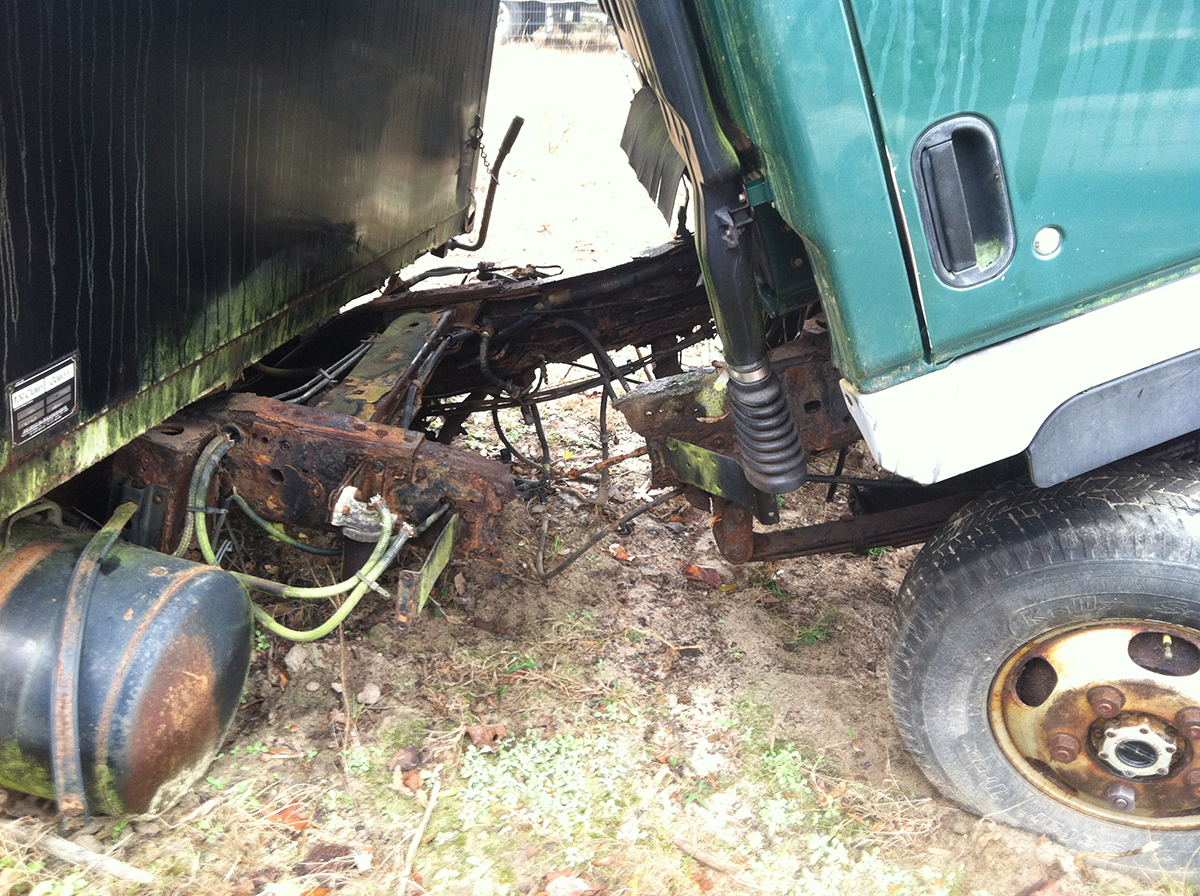 what to do if your truck frame is rusted out