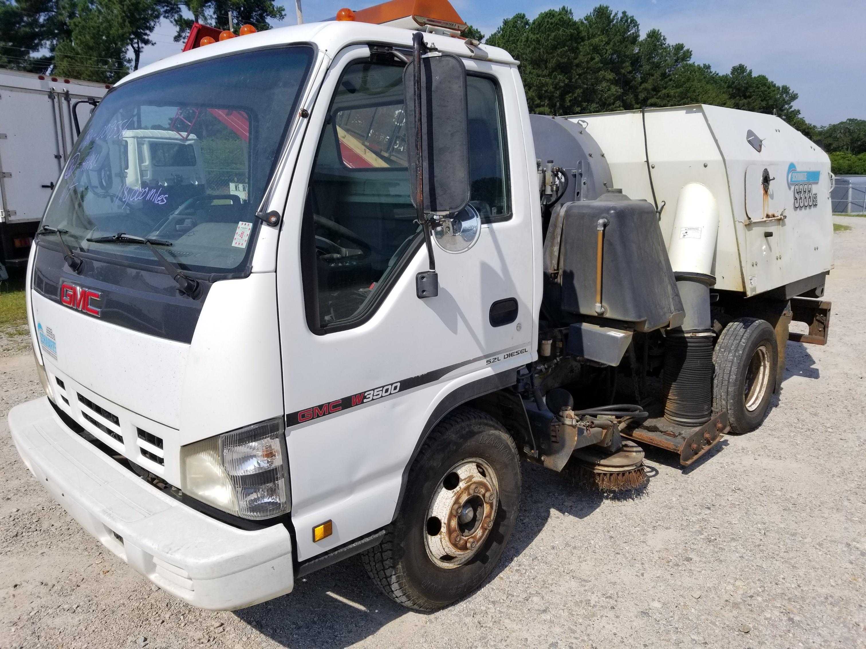 2006 GMC W3500 Sweeper | Isuzu NPR NRR Truck Parts | Busbee