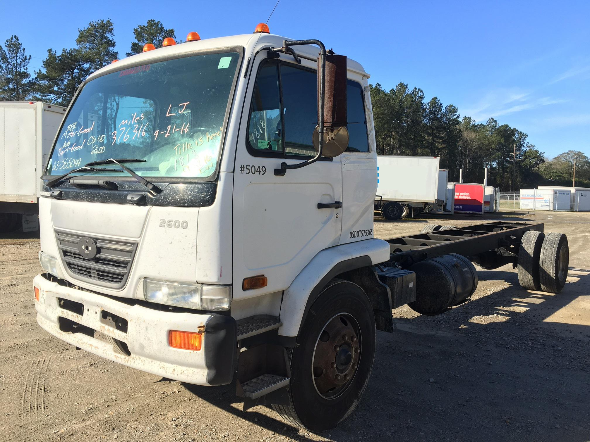2007 nissan ud 2300dh isuzu npr nrr truck parts busbee. Black Bedroom Furniture Sets. Home Design Ideas