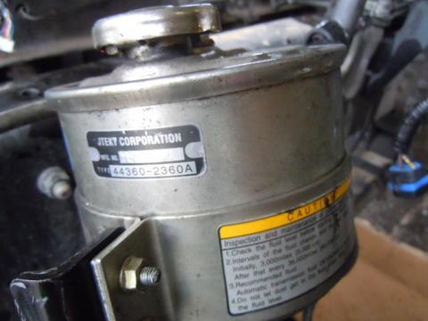 08 hino 268 jo8e power steering reservoir used isuzu npr nrr truck rh busbeetruckparts com Used Hino Engines Hino Diesel Engine Parts