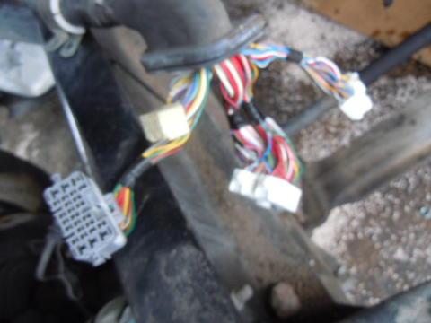 08 hino 268 jo8e chassis harness