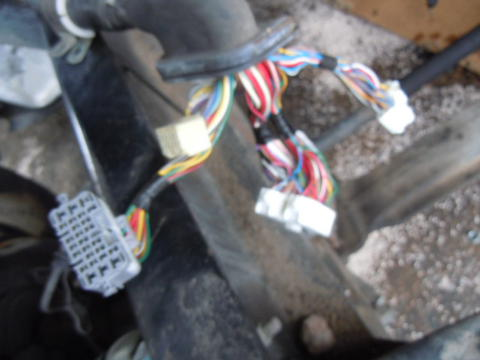 wiring harness isuzu npr nrr truck parts busbee 08 hino 268 jo8e chassis harness