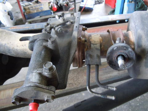 08 hino 268 jo8e exhaust brake used isuzu npr nrr truck parts busbee rh busbeetruckparts com