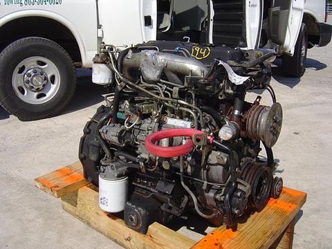 isuzu engine motor isuzu npr nrr truck parts busbee isuzu diesel engine 4bd2 npr gmc w3500 w4500 chevy w4 w5 1992 98 used