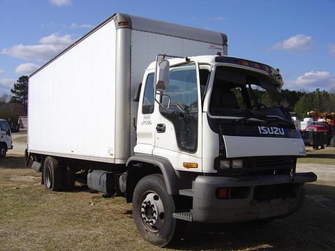 Awesome Isuzu FTR 2000 24u0027 Box Truck Used