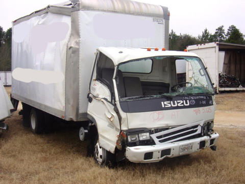 Lovely Isuzu NPR Box Truck 2005 Used