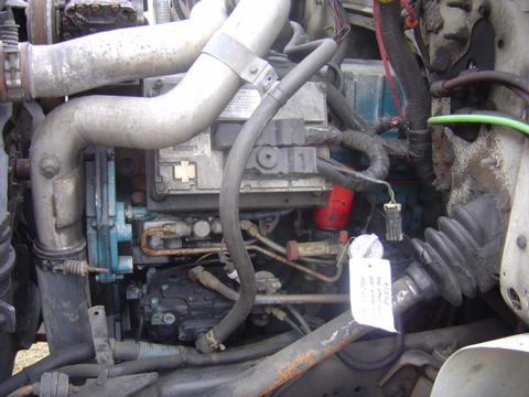 International Dt466e Engine 210 Hp Used Isuzu Npr Nrr