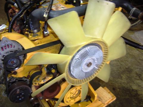 Caterpillar Fan Clutch Assembly 3126 2003 Used | Isuzu NPR