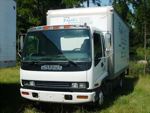 Isuzu FRR Box Truck 2001 Used