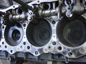 mitsubishi fuso piston 6d16 used isuzu npr nrr truck parts busbee rh busbeetruckparts com Mitsubishi Engine Parts 2G1 Mitsubishi Engine