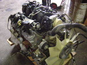 gmc w3500 w4500 w5500 engine 6 0 gas v8 used isuzu npr nrr truck rh busbeetruckparts com Isuzu Box Truck Isuzu FTR