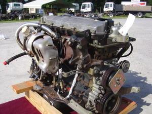 isuzu engine motor isuzu npr nrr truck parts busbee isuzu diesel engine 4he1 npr nqr gmc w3500 w4500 w5500 1999 04 used