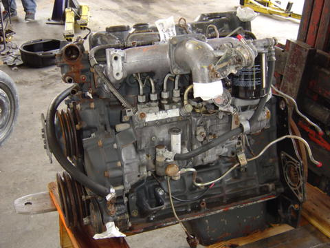 mitsubishi fuso engine motor isuzu npr nrr truck parts busbee rh busbeetruckparts com Mitsubishi Engines Turn Key Engine Mitsubishi V6 Engine for Car