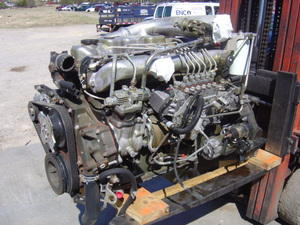Mitsubishi fuso engine motor isuzu npr nrr truck parts for Rebuilt motors near me