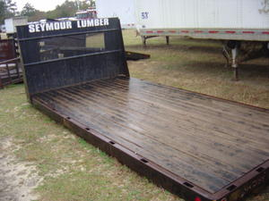 Truck Flatbed Wood 16 Foot Used