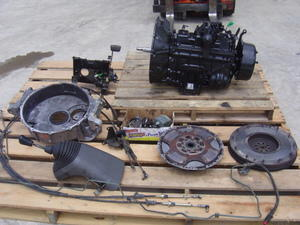 isuzu transmission manual 6 speed frr ftr fsr mlq60 complete swap out gmc  wt5500 w6500 w7500