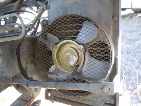 AC Condenser Fan Isuzu NPR NRR Truck Parts Busbee