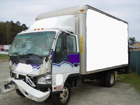 438d74bbbc4b41 Isuzu NPR 2006 Box Truck Used