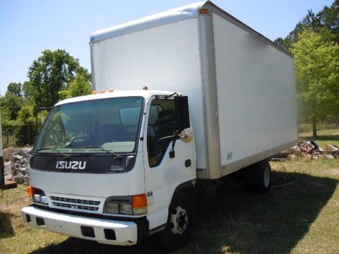 Isuzu NPR 1995 Box Truck Used