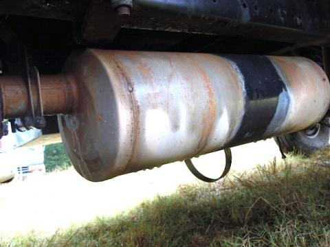 Muffler Tailpipe Isuzu NPR NRR Truck Parts Busbee