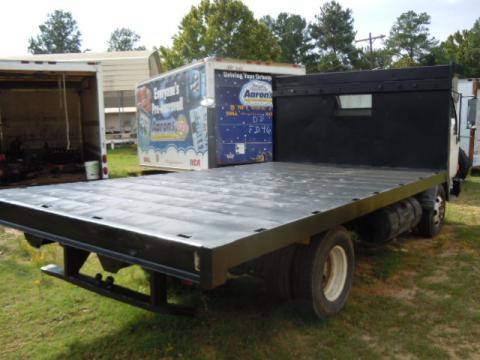 14 foot dump bed with pto and pump used isuzu npr nrr. Black Bedroom Furniture Sets. Home Design Ideas